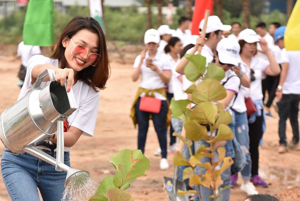 10.000 cây xanh được trồng trong Lễ phát động chiến dịch Go Green 2019  - ảnh 6