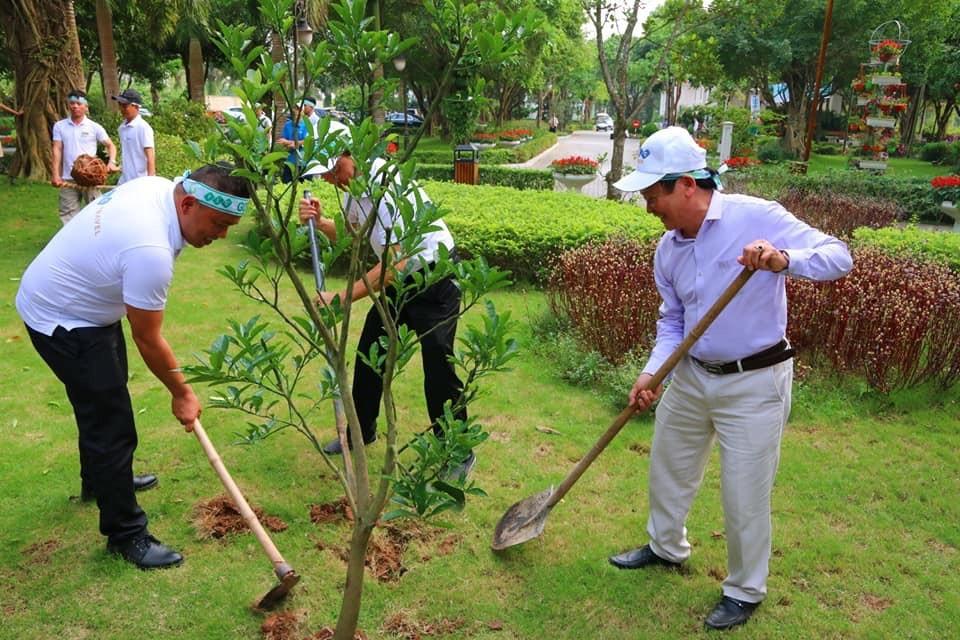 10.000 cây xanh được trồng trong Lễ phát động chiến dịch Go Green 2019  - ảnh 7