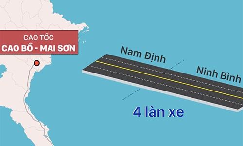 Ba dự án cao tốc Bắc Nam sẽ khởi công vào tháng 6 - ảnh 2