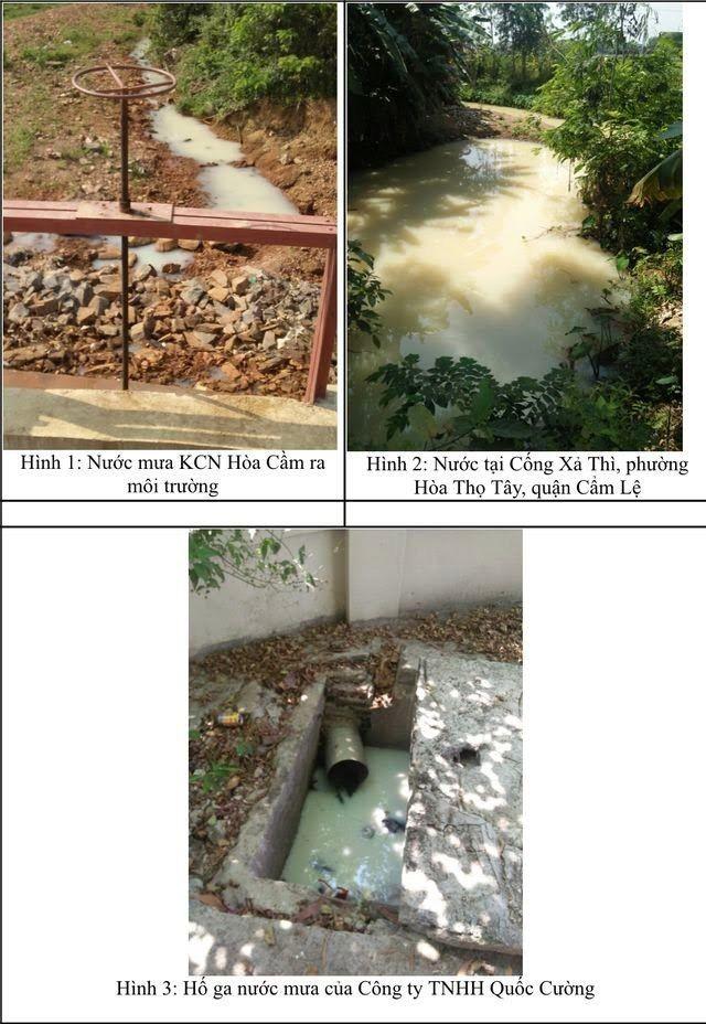 Đà Nẵng: Đề nghị xử phạt 2 công ty lén xả thải bẩn ra môi trường - ảnh 1