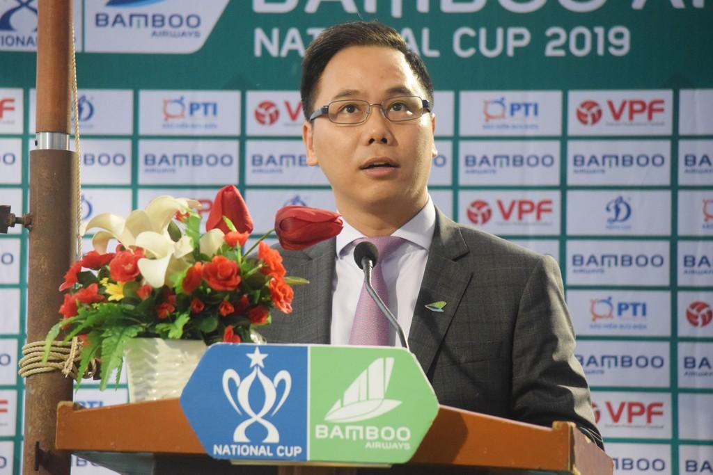 Chính thức khai mạc Giải bóng đá Cúp Quốc gia – Bamboo Airways 2019:  Hứa hẹn nhiều kịch tính - ảnh 1