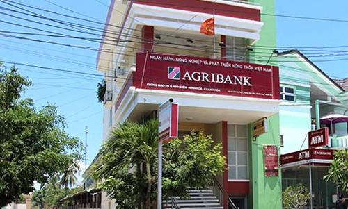 Phòng giao dịch ngân hàng ở Khánh Hòa, nơi khách hàng phản ánh mất tiền gửi trong sổ tiết kiệm.