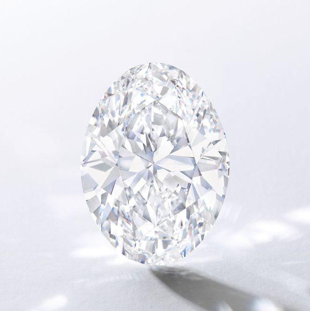 Viên kim cương hình bầu dục nặng 88,22 carat.