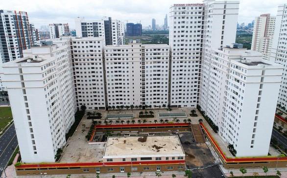Dự án 1.080 căn trong khu tái định cư 38,4ha phường Bình Khánh - Ảnh: TƯ LIỆU