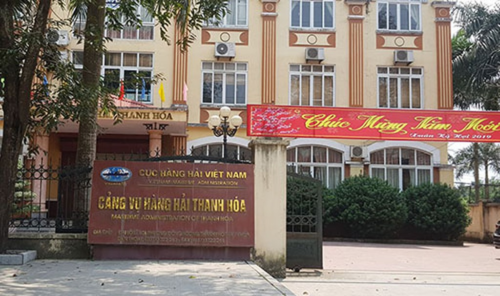 Trụ sở Cảng vụ hàng hải Thanh Hoá.