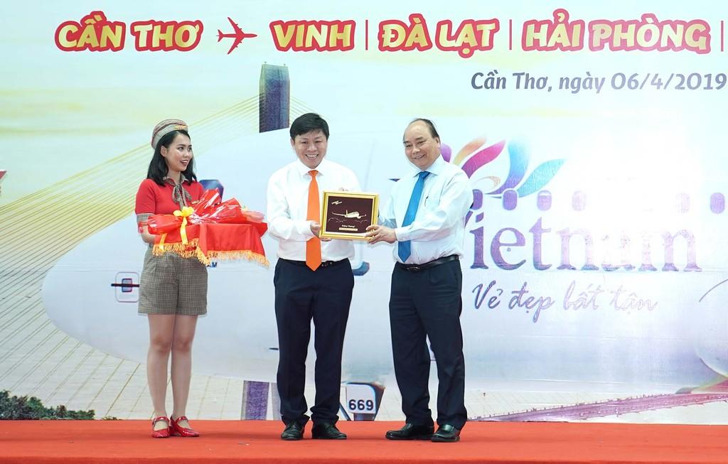 Vietjet khai trương 5 đường bay mới đi, đến Cần Thơ - ảnh 1