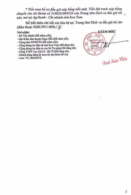 Ngày 25/4/2019, đấu giá 101,283 m3 gỗ xẻ tại tỉnh Kon Tum - ảnh 2