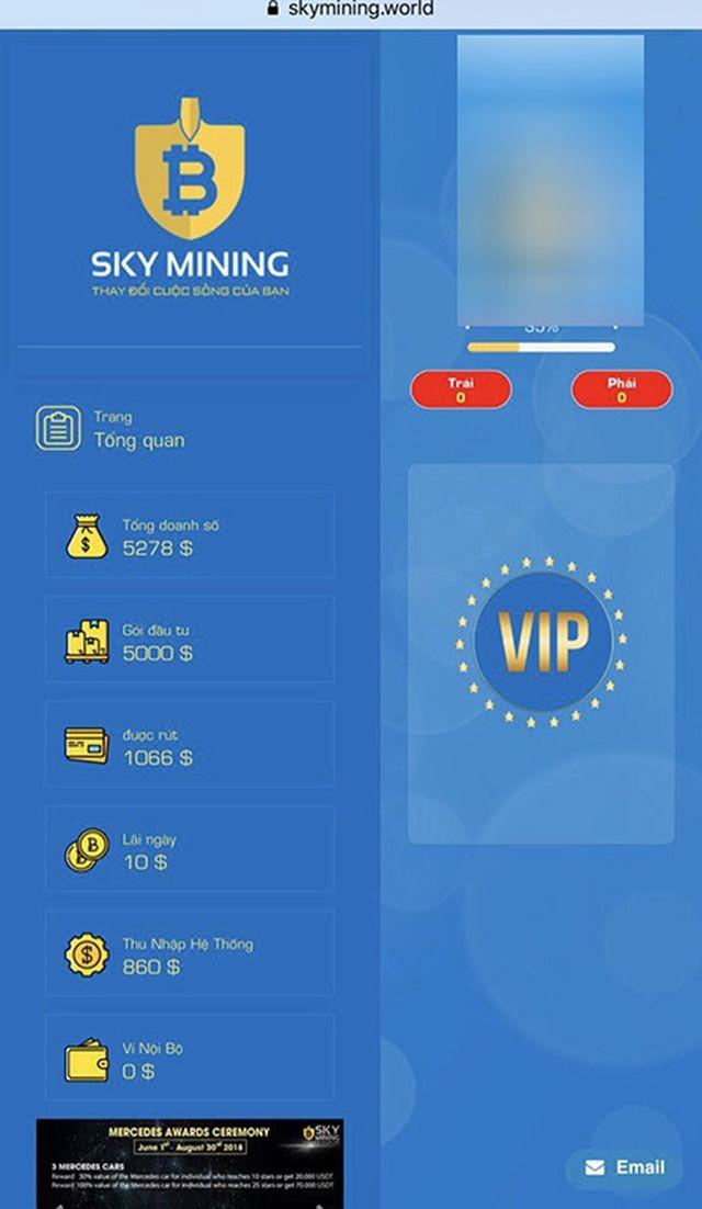 """Vụ công ty """"tiền ảo"""" Sky Mining bỏ trốn: Hàng trăm nhà đầu tư chấp nhận mất hàng ngàn tỉ đồng - ảnh 2"""