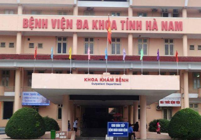 Khoa khám bệnh, Bệnh viện Đa khoa tỉnh Hà Nam