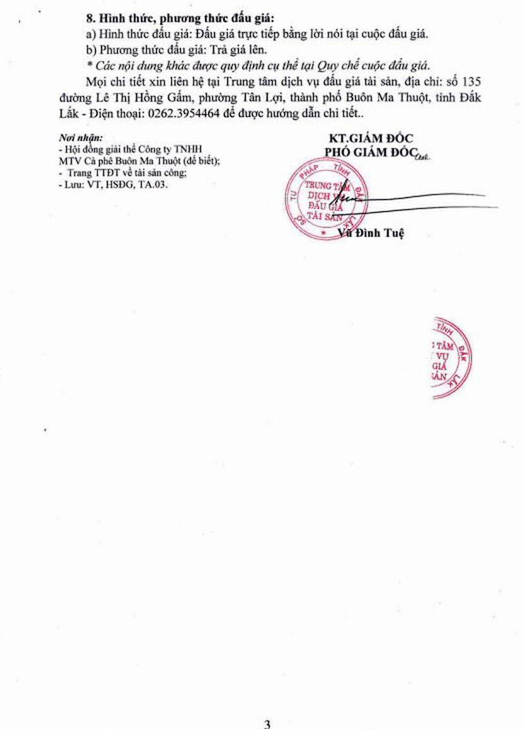 Ngày 25/4/2019, đấu giá MMTB, phương tiện vân tải truyền dẫn tại tỉnh Đắk Lắk   - ảnh 3