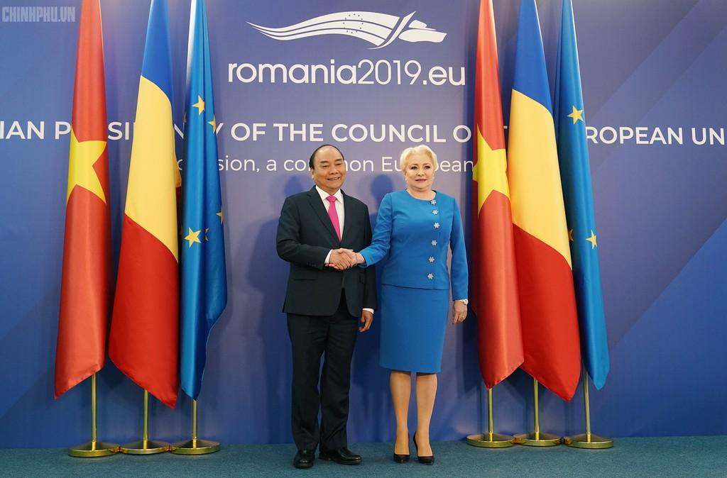 Thủ tướng Việt Nam, Romania hội đàm - ảnh 1