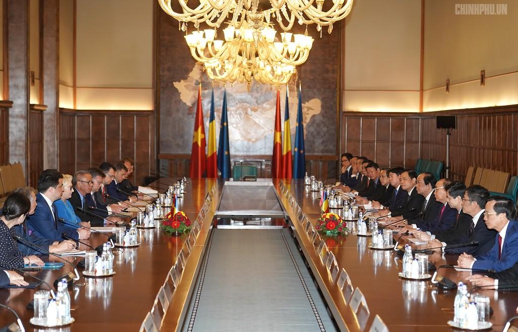 Thủ tướng Việt Nam, Romania hội đàm - ảnh 2