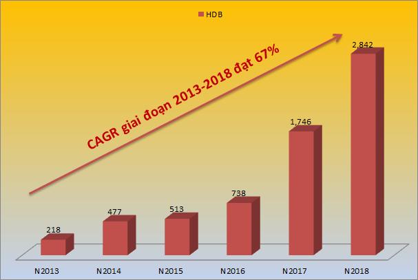HDBank lọt Top 5 Ngân hàng có tốc độ tăng trưởng nhanh nhất năm 2019 - ảnh 1