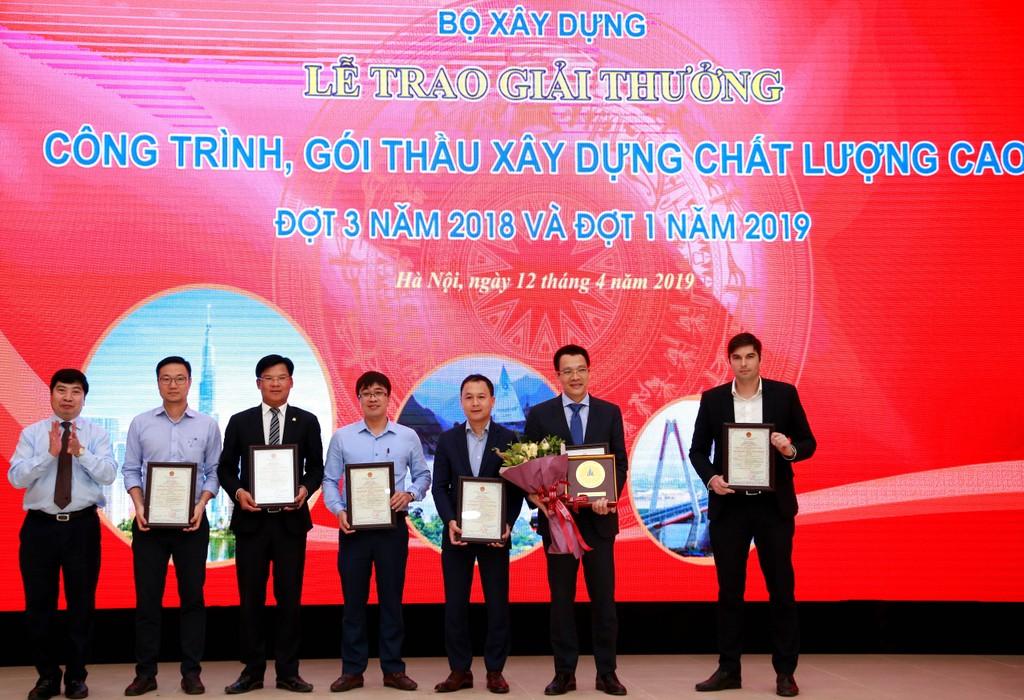 """Sheraton Grand Đà Nẵng Resort đạt Huy chương vàng """"Công trình xây dựng chất lượng cao"""" năm 2018 - ảnh 1"""