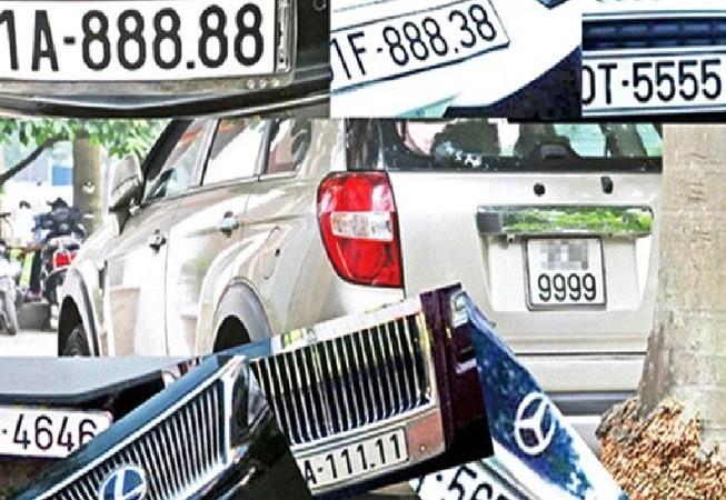 Bộ Tài chính ủng hộ việc đấu giá biển số xe để bảo đảm tính công khai, minh bạch trong việc cấp quyền sử dụng biển số xe. Nguồn: Internet