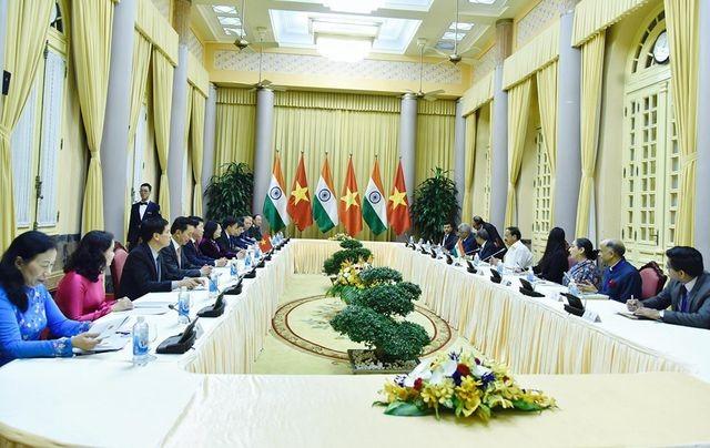 Phó Chủ tịch nước hội đàm với Phó Tổng thống Ấn Độ - ảnh 1