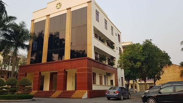 Trụ sở Thanh tra tỉnh Thanh Hoá, nơi có 5 cán bộ bị bắt vì tình nghi nhận hối lộ.