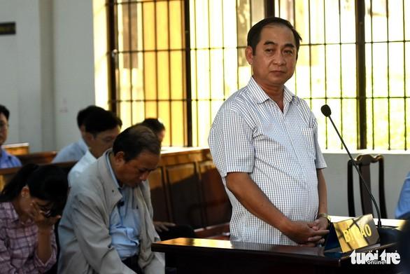 Bị cáo Võ Thanh Tùng tại phiên tòa sơ thẩm