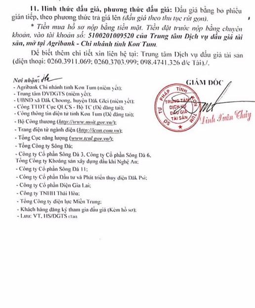 Ngày 24/5/2019, đấu giá quyền sử dụng đất và tài sản gắn liền với đất tại huyện Đắk Glei, tỉnh Kon Tum - ảnh 2