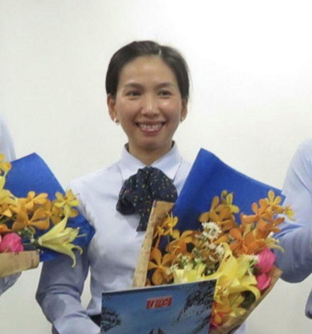 Bà Hồ Thị Thanh Phúc vào thời điểm được bổ nhiệm năm 2015 (nguồn Internet)