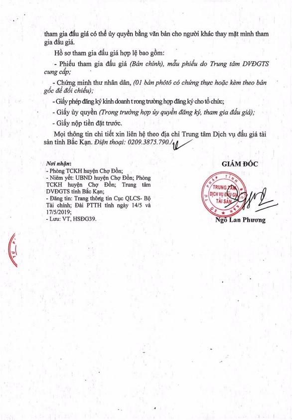 Ngày 31/5/2019, đấu giá quặng các loại tại tỉnh Bắc Kạn - ảnh 4