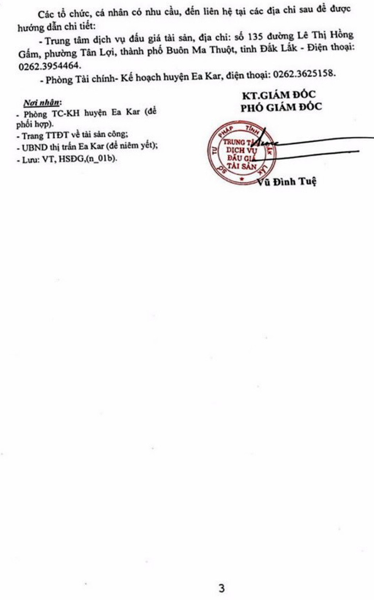 Ngày 6/6/2019, đấu giá quyền sử dụng đất tại huyện Ea Kar, tỉnh Đắk Lắk - ảnh 3