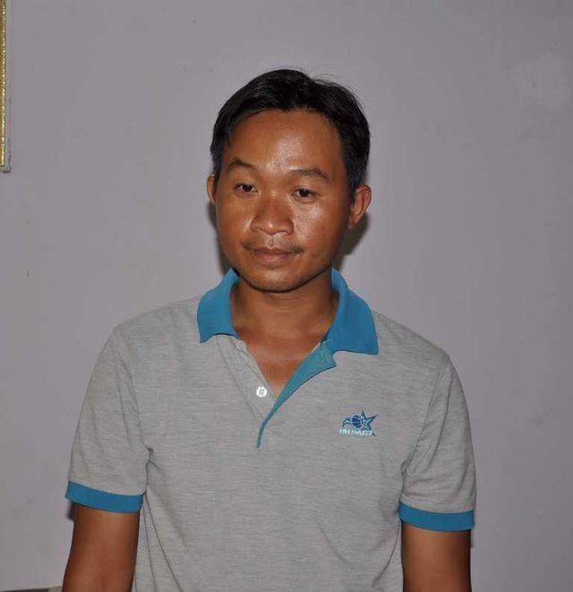 Bị can Phan Thanh Mộng tại cơ quan điều tra