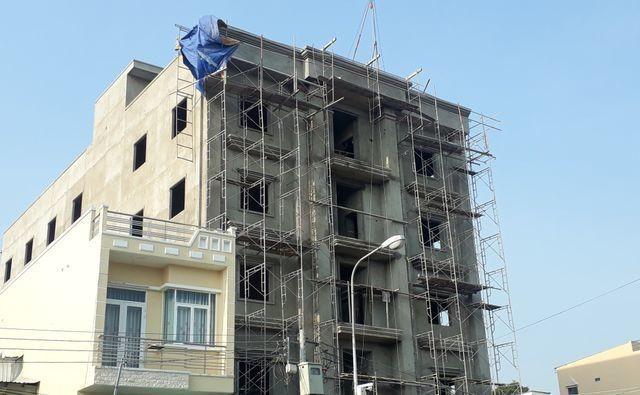 Công trình xây dựng nơi xảy ra sự cố sập giàn giáo làm 3 công nhân tử vong