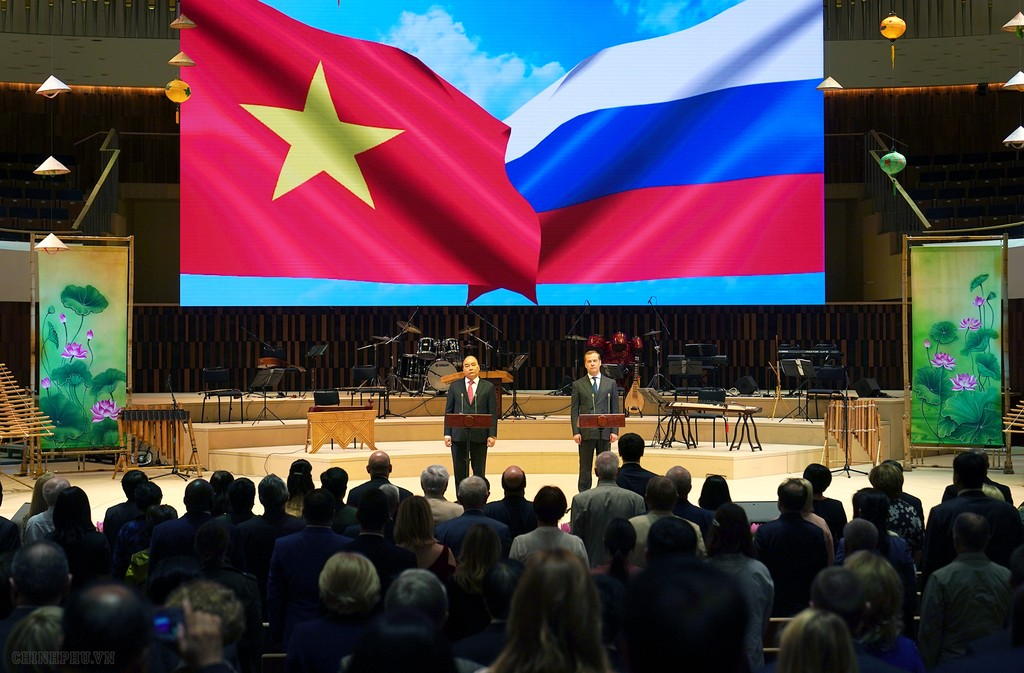 """Thủ tướng Việt Nam và Nga dự lễ khai mạc """"Năm chéo"""" - ảnh 2"""