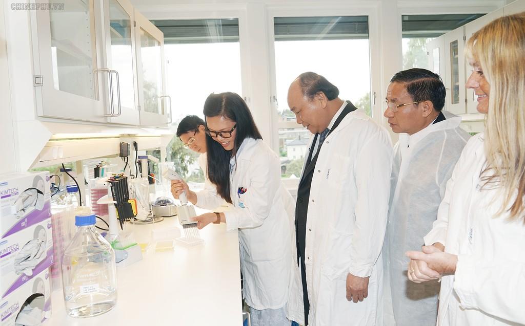 Thủ tướng thăm một số cơ sở kinh tế hàng đầu của Na Uy - ảnh 1