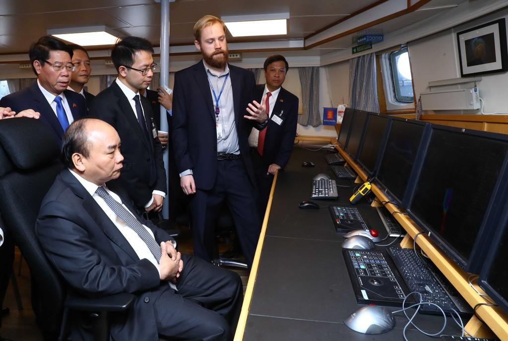 Thủ tướng thăm một số cơ sở kinh tế hàng đầu của Na Uy - ảnh 4
