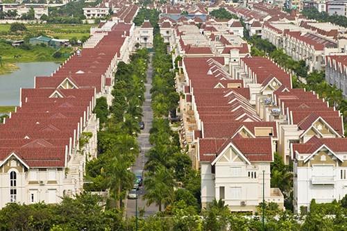 Một góc khu đô thị Ciputra đã được bàn giao cho cư dân sinh sống. Ảnh: CĐT