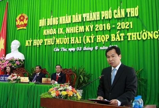 Phó Bí thư Thành ủy Lê Quang Mạnh giữ chức danh Chủ tịch UBND thành phố Cần Thơ - ảnh 2