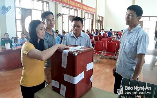 Chống nạn 'cò đất', Quỳnh Lưu thí điểm đấu giá 19 lô bằng bỏ phiếu kín gián tiếp - ảnh 2