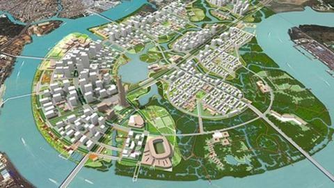 TP.HCM sẽ đấu giá công khai 9 lô đất vàng ở khu đô thị mới Thủ Thiêm. Ảnh minh họa