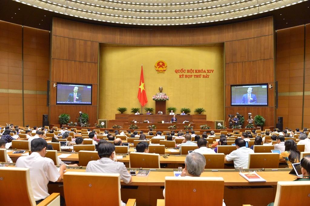 Quốc hội tiếp tục chất vấn Bộ trưởng Bộ Xây dựng Phạm Hồng Hà - ảnh 1