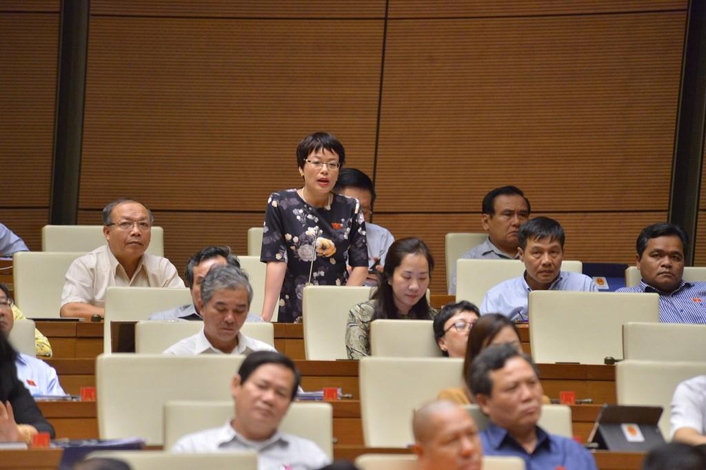 Quốc hội tiếp tục chất vấn Bộ trưởng Bộ Xây dựng Phạm Hồng Hà - ảnh 5