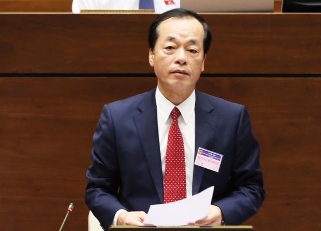 Quốc hội tiếp tục chất vấn Bộ trưởng Bộ Xây dựng Phạm Hồng Hà - ảnh 6