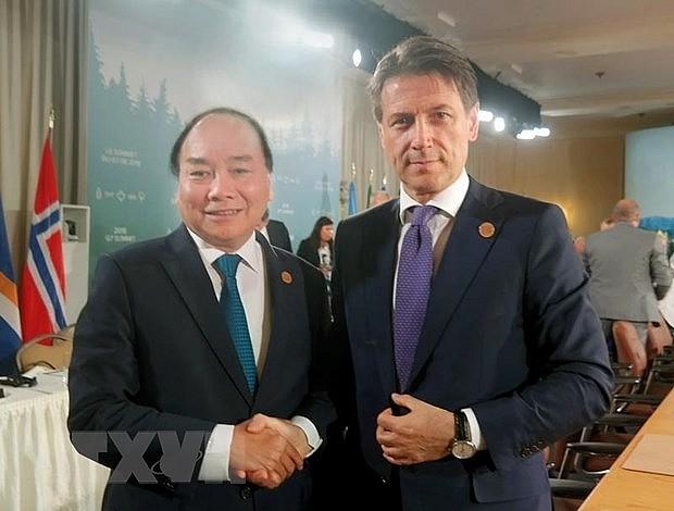 Ðưa quan hệ đối tác chiến lược Việt Nam - Italy lên tầm cao mới