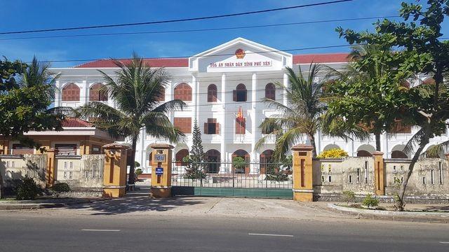 TAND tỉnh Phú Yên nơi xảy ra vụ việc