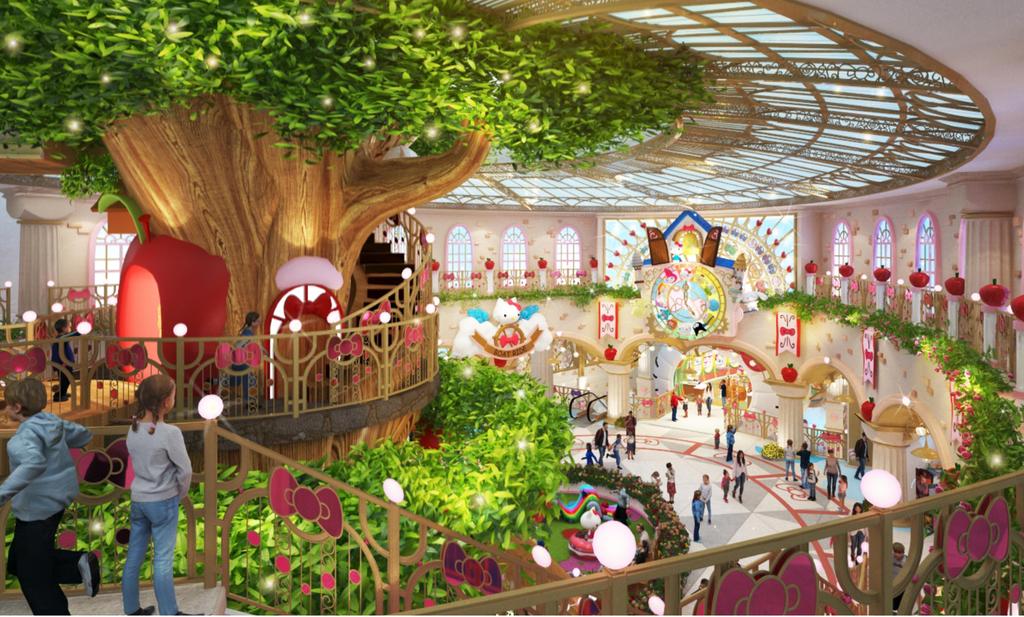 Top các công viên Hello Kitty nổi tiếng châu Á - ảnh 7