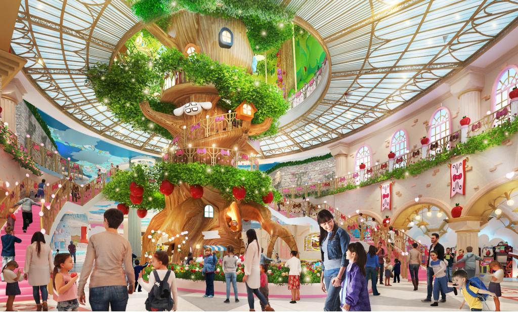 Top các công viên Hello Kitty nổi tiếng châu Á - ảnh 8