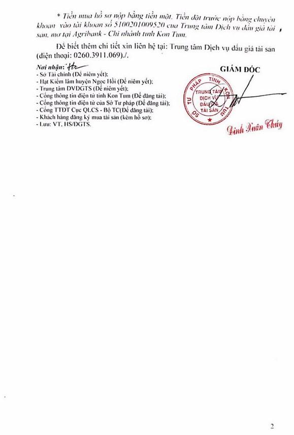 Ngày 21/6/2019, đấu giá 101,283 m3 gỗ xẻ tại tỉnh Kon Tum - ảnh 2