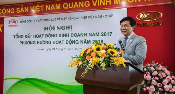Ông Trần Ngọc Hà phát biểu tại một hội nghị đầu năm 2018 - Ảnh: VEAM