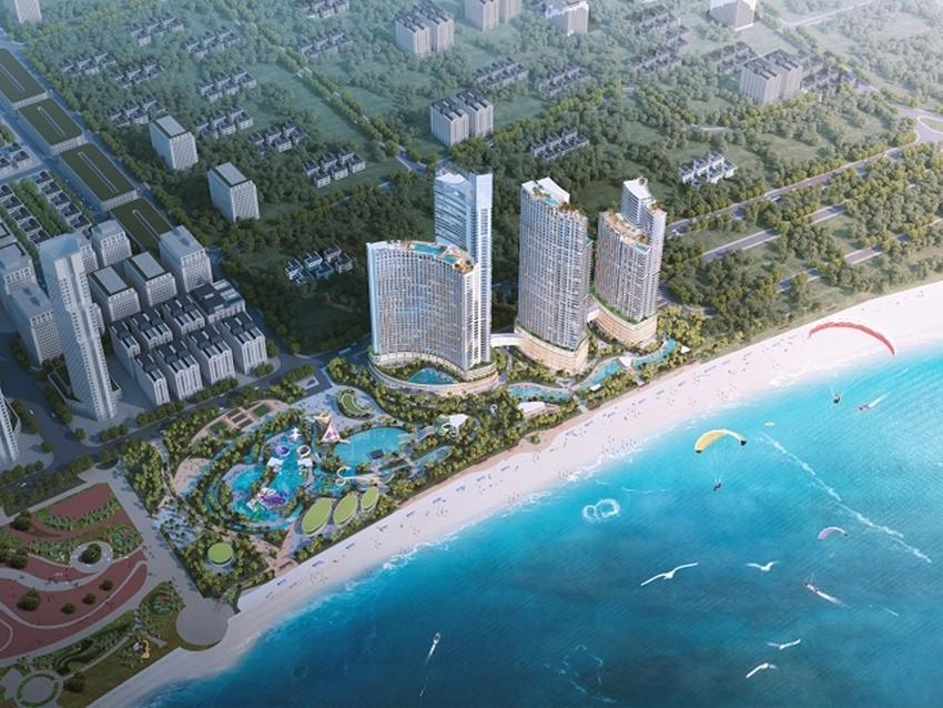 Những dự án lớn có mặt, nổi bật là SunBay Park Hotel & Resort Phan Rang.
