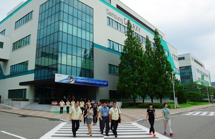 Samsung đã được đồng ý tăng vốn đầu tư một nhà máy điện tử tại TP.HCM lên 2 tỷ USD. Ảnh: Minh Thùy