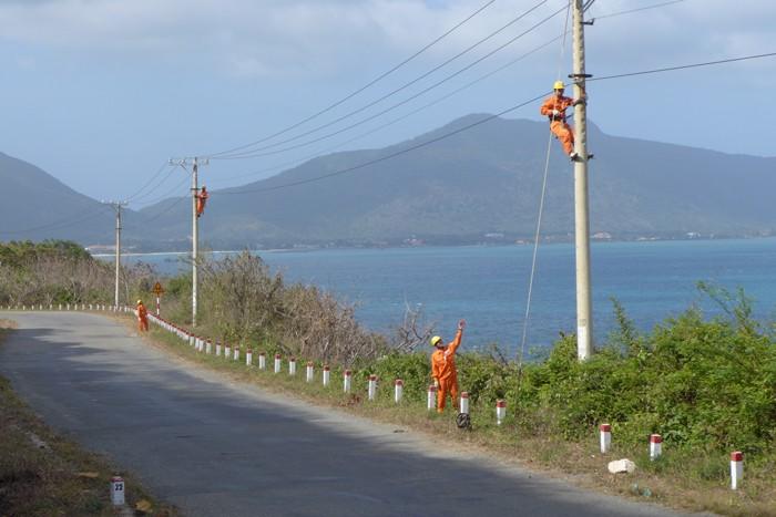 13 công trình cấp điện nông thôn ở phía Nam đang được đề xuất phân bổ vốn. Ảnh: Tiên Giang