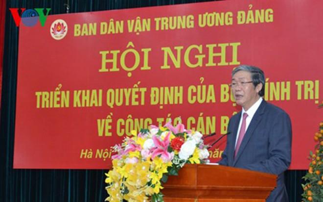 Bà Trương Thị Mai giữ chức Trưởng Ban Dân vận Trung ương - ảnh 1