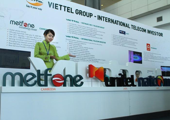 Viettel đặt mục tiêu đến năm 2020 đứng trong Top 10 doanh nghiệp viễn thông trên thế giới về đầu tư ra nước ngoài. Ảnh: Lê Tiên