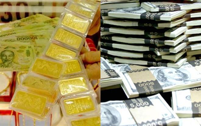 Ngày 23/2, giá vàng tăng giảm thất thường, tỷ giá trung tâm tăng 7VND (Ảnh minh họa).